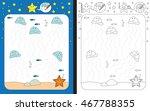 preschool worksheet for... | Shutterstock .eps vector #467788355