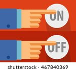 on   off button for web design. ...
