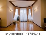 modern luxury interior   hall...   Shutterstock . vector #46784146