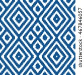ikat pattern seamless... | Shutterstock .eps vector #467846057