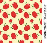 red apple texture   vector... | Shutterstock .eps vector #467846519