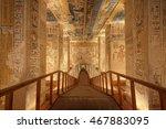 luxor  egypt   february 5 2016  ... | Shutterstock . vector #467883095