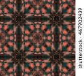 Kaleidoscopic Design Abstract...