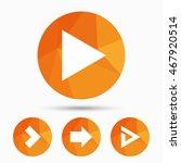 arrow icons. next navigation...   Shutterstock .eps vector #467920514