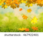 autumn background | Shutterstock . vector #467922401