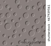 seamless pattern of moon... | Shutterstock .eps vector #467939561