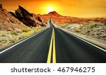 road at dawn | Shutterstock . vector #467946275