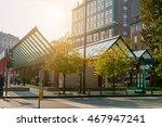modern metro station in milan... | Shutterstock . vector #467947241