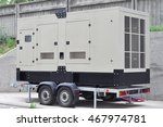 Commercial Backup Generator. A...