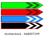 colorful web buttons green ... | Shutterstock .eps vector #468007199