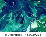marbled blue abstract... | Shutterstock . vector #468039215