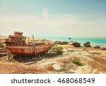 old ship factory. qeshm island  ... | Shutterstock . vector #468068549