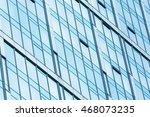 fragment view of glass wall in... | Shutterstock . vector #468073235