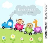 baby shower | Shutterstock .eps vector #468078917