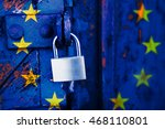 Locked Europe  Padlock On A...