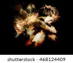 of angel and demon series.... | Shutterstock . vector #468124409