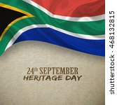 south africa heritage day... | Shutterstock . vector #468132815