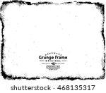 grunge frame texture | Shutterstock .eps vector #468135317