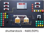 operating brewery contol... | Shutterstock . vector #46815091
