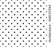 seamless polka dot background | Shutterstock .eps vector #468151964