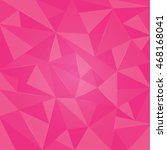 triangle pink background vector ... | Shutterstock .eps vector #468168041