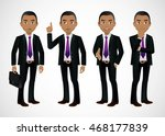 elegant people businessman | Shutterstock .eps vector #468177839