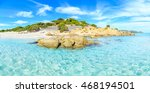 a view of a beach in... | Shutterstock . vector #468194501
