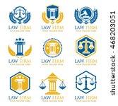 law firm logos | Shutterstock .eps vector #468203051