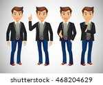 elegant people businessman | Shutterstock .eps vector #468204629