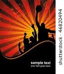 basketball poster   Shutterstock .eps vector #46820494