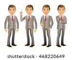 elegant people businessman | Shutterstock .eps vector #468220649