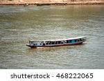 Tourist Boat On The Mekong...