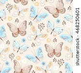 Seamless Pattern With...