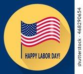 happy labor day. vector... | Shutterstock .eps vector #468290654