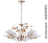 chandelier isolated | Shutterstock . vector #468294851