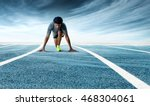 a low angle front shot of a... | Shutterstock . vector #468304061
