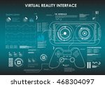 set of hud elements for virtual ...