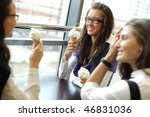 women on foreground | Shutterstock . vector #46831036