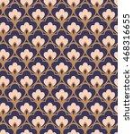 seamless vintage pattern | Shutterstock .eps vector #468316655