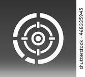 bullseye vector icon...