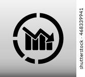 chart diagram vector icon...