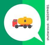tanker truck | Shutterstock .eps vector #468349481