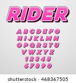 vector speed racing sport... | Shutterstock .eps vector #468367505