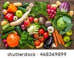 assortment of the fresh... | Shutterstock . vector #468369899