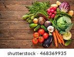 assortment of the fresh... | Shutterstock . vector #468369935