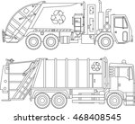 coloring pages. set of... | Shutterstock .eps vector #468408545