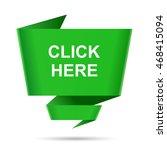 speech bubble click here design ... | Shutterstock .eps vector #468415094