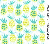 cool graphic vector pattern of... | Shutterstock .eps vector #468431969