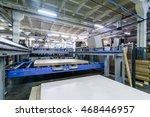 furniture factory machine | Shutterstock . vector #468446957
