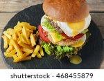 Hamburger Meat Cutlet  Egg...
